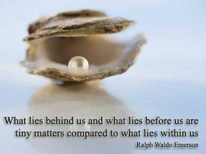 What lies within