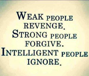 weak strong intelligent