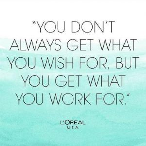work for it