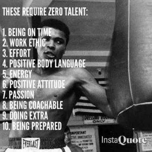 zero talent needed