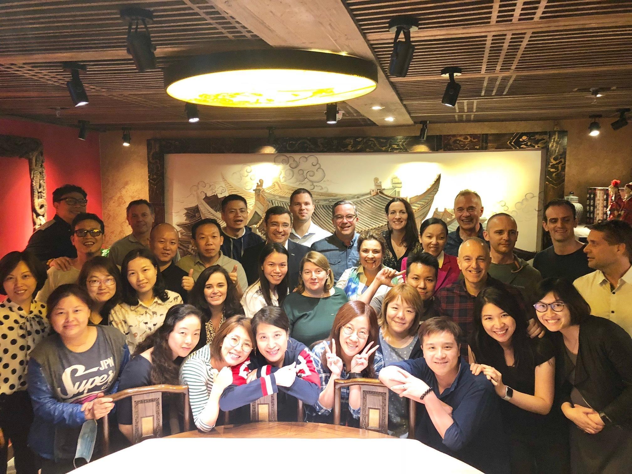 The Team at Hong Kong! - November 2018
